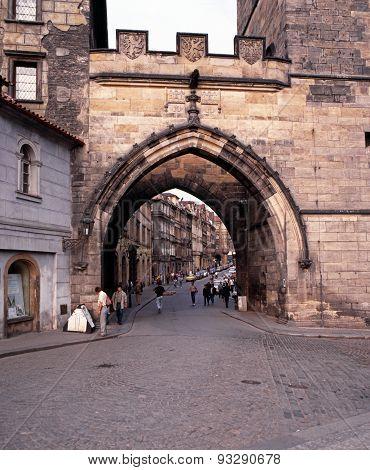Lesser Quarter Bridge, Prague.