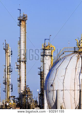 chemical factory Industry and factories backgrounds