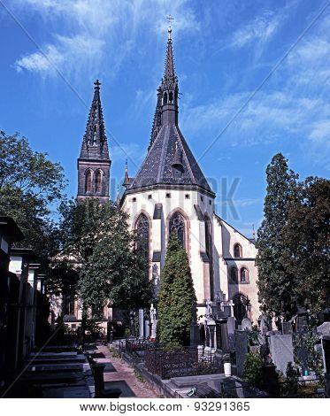 St Peter and St Paul church, Vyserhrad.