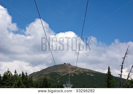 National park Krkonose Giant mountains