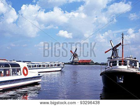 River Zaan, Zaanse Schans.
