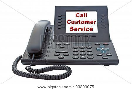 Customer Service Voip Phone