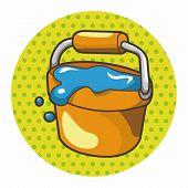 image of bucket  - Water Bucket Theme Elements - JPG