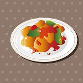 picture of chinese menu  - Chinese Food Theme Elements - JPG
