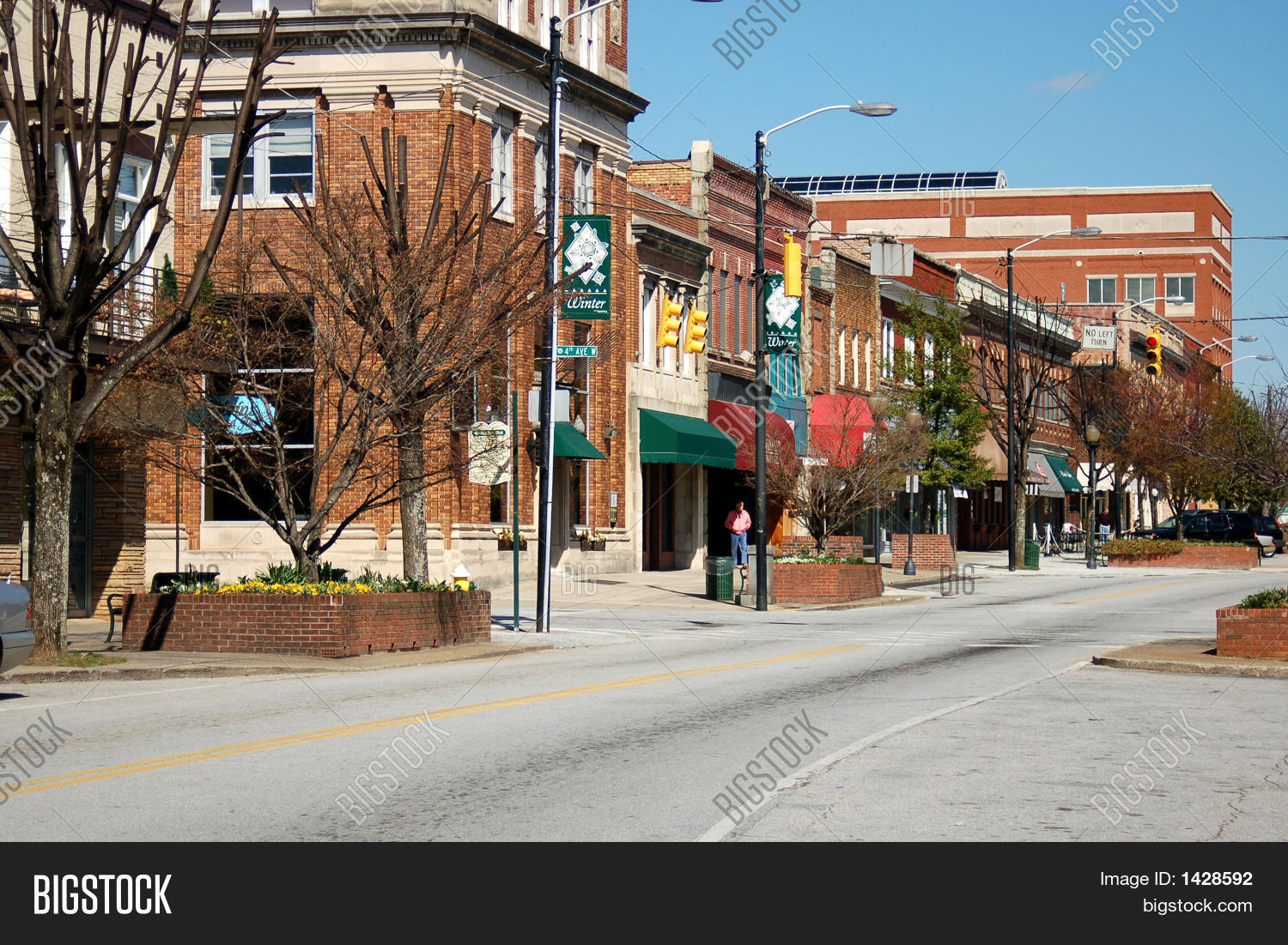 Rural Downtown Street Stock Photo & Stock Images | Bigstock