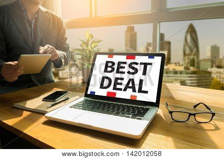 BEST DEAL Thoughtful male person looking to the digital tablet screen laptop screenSilhouette and filter sun