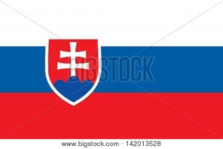 Flag of Slovakia slovakia, flag, slovak, vector, symbol, graphic, emblem, illustration, banner