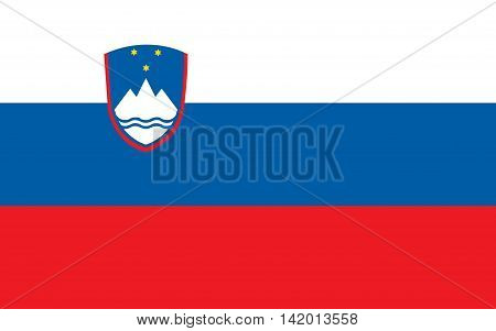 Flag of Slovenia flags, vector, the, national, travel, sign, south, symbol, political, continent, pride, nation