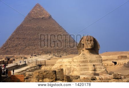 The Sphinx & The Pyramids