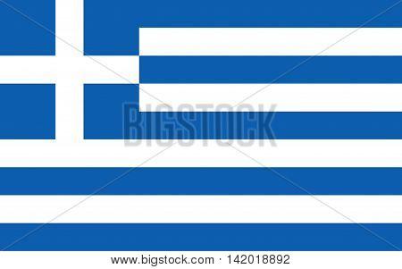 Flag of Greece vector, symbol, illustration, banner, greece, graphic, emblem