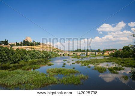 Ciudad Rodrigo - Castle Of Henry Ii Of Castile And Agueda River