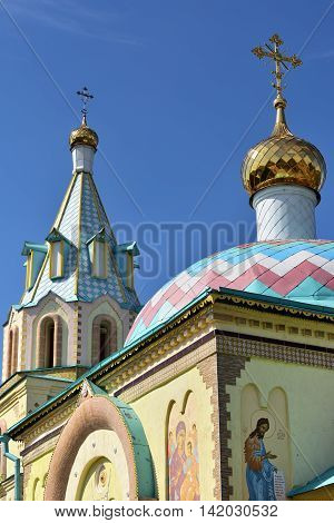 Paraskeva Church. Russian Eclecticism Architecture