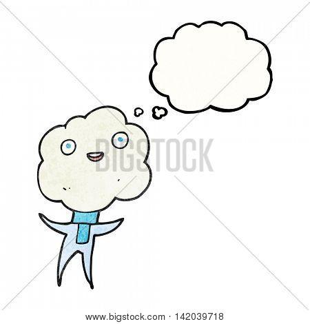 cute cloud head creature