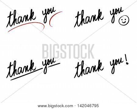 Photo Collage With Thank You Messages