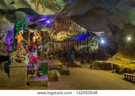 Chiang Dao Cave Chiang Mai Province Thailand.