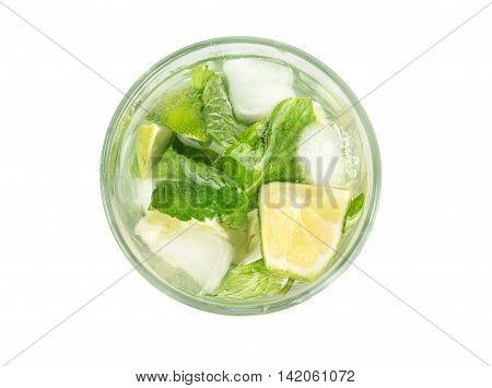 Fresh Mojito In Glass