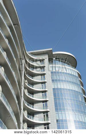 Kiev city in Ukraine , modern architecture