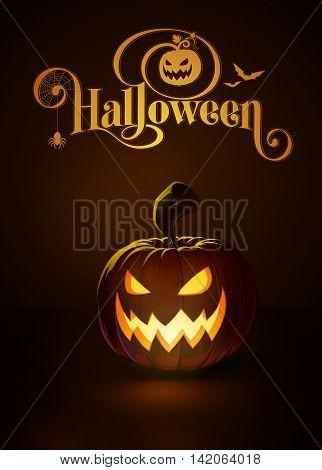 Jack-o-lantern Dark Scary Cool
