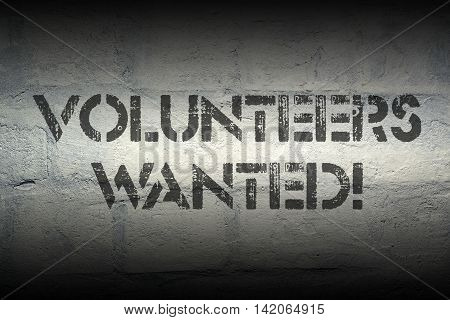 Volunteers Wanted Gr