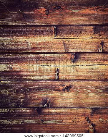 abstract background or texture retro horizontal wood paneling from boards