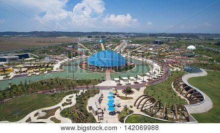 Antalya EXPO 2016 Aerial Photo Wide Angle
