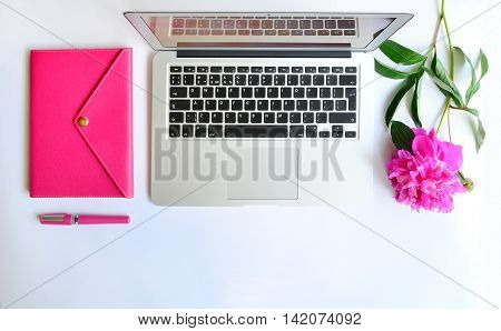 Working Place At Home Or Office