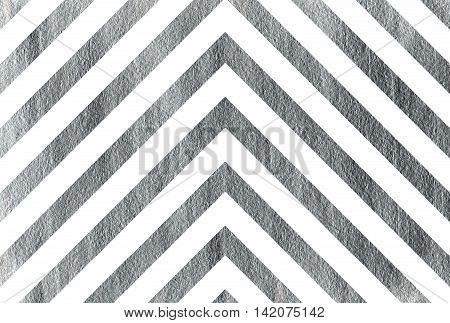 Silver Stripes Background, Chevron.