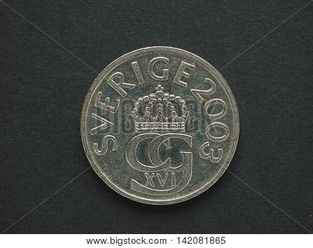 5 Swedish Krona (sek) Coin, Currency Of Sweden (se)