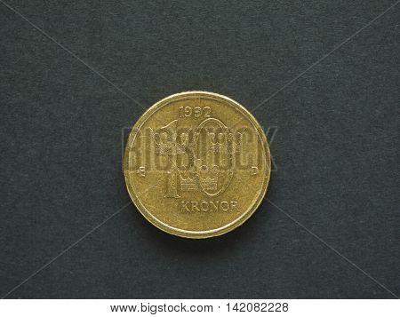 10 Swedish Krona (sek) Coin, Currency Of Sweden (se)
