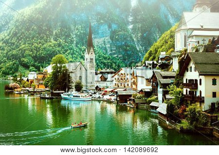 Hallstatt  - beautiful fairy village in Austria