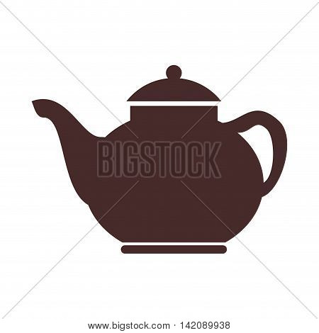 teapot tea english london british pot united kingdom vector graphic isolated and flat illustration