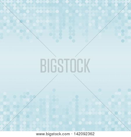 abstract background with blue dots and copy space