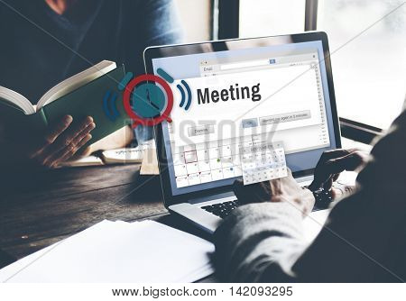 Meeting Brainstorming Convention Cooperation Concept