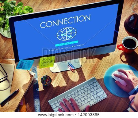 Connection Globalization Technology Internet Concept