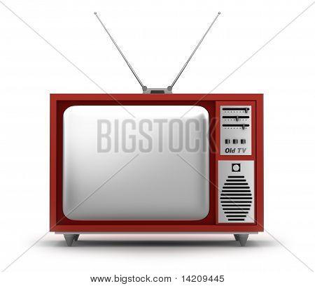 Retro TV Set. My own design.