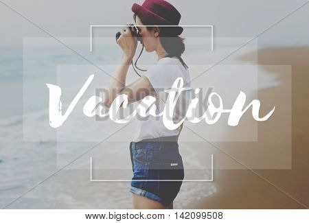 Vacation Explore Holiday Journey Recess Tour Concept