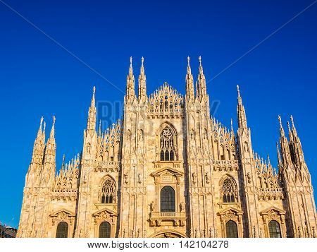 Milan Cathedral Hdr