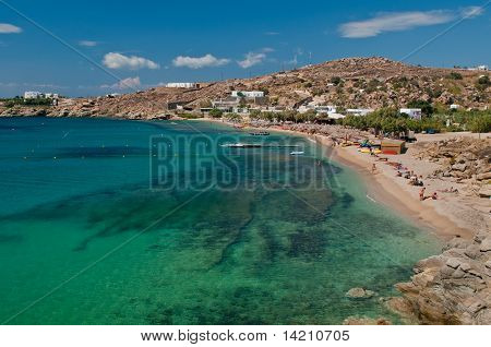 Paradise Beach Of Mykonos