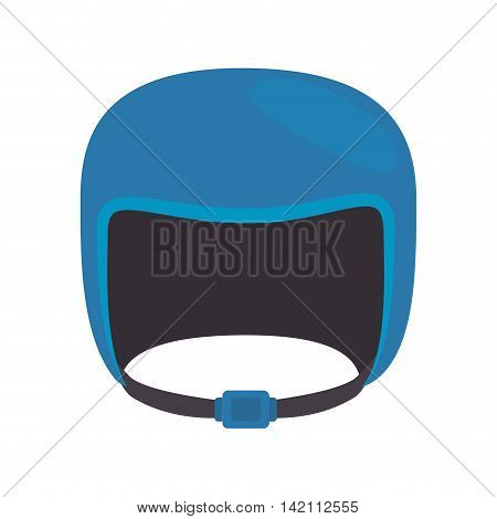 helmet sport winter snowboarding motorcycle security safe object vector graphic isolated illustration