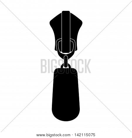 classic zipper zippered zip style teeth sewing textile vector graphic isolated and flat illustration