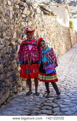 The People Of Peru