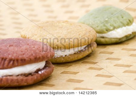 Three Earth Toned Whoopie Pies