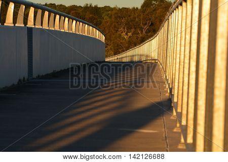 Late evening shot bridge on the way to Noosa Queensland
