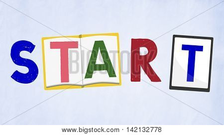 Start Up Launch Beginning Inception Starting Concept