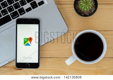 CHIAN12 252016:Google Maps is a web mapping service application and technology provided by Google. Also available as a mobile app for smartphones.