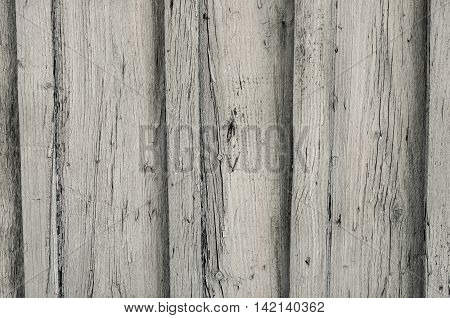 Old wooden planks texture with signs of aging