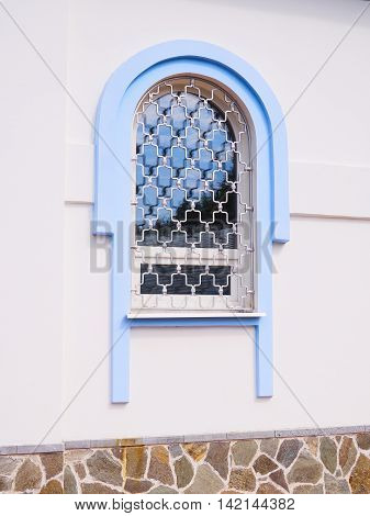 Window Of The Church Of Our Lady Of The Inexhaustible Chalice