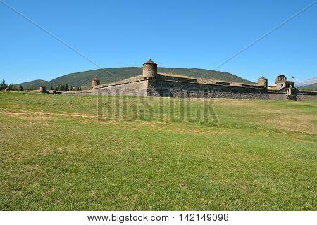 Ciudadela de Jaca. Huesca. Aragon. España. Citadel. 16th-century military architecture