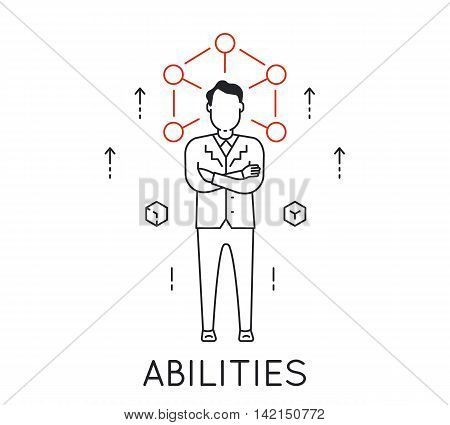 Linear Concept of Human Abilities Development of Personal Qualities to Enhance Business Skills