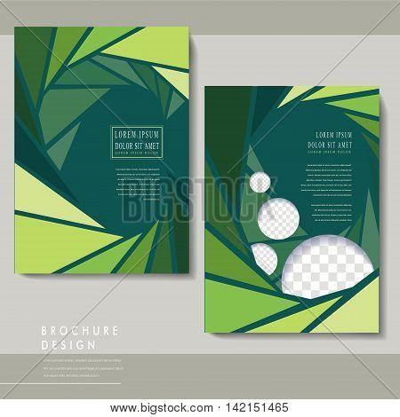 Charming Brochure Template Design